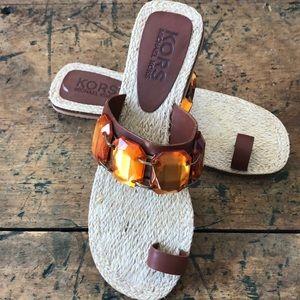 Michael KORS EMBELLISHED Sandals